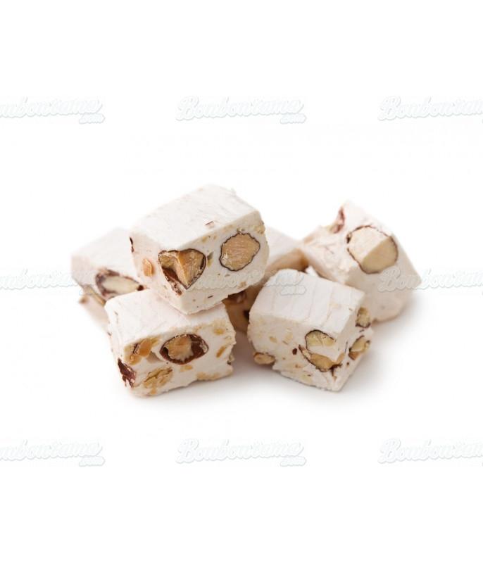 Nougat Cube au caramel Beurre salé de Guerande 3 kg