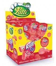 Roll'Up Fraise Lutti x 24 pcs