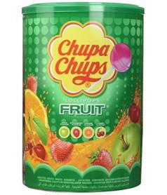 Chupa Chups Fruit x 100 pcs en tubo