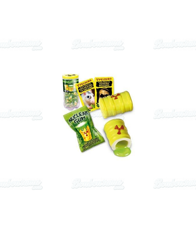 Nuclear Gum Sticker Fini x 50 pcs