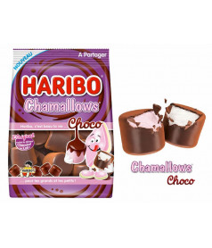 Sachet Chamallows Choco Lait Haribo 75 gr x 24 pcs