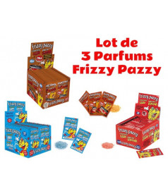 Frizzy Pazzy Lot 3 Parfums x 50 pcs