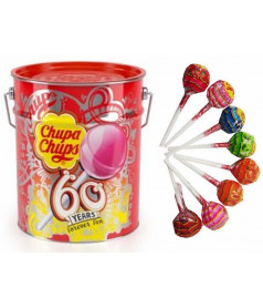 Chupa Chups en Pot Métal Best Of x 150 pcs