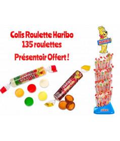 Pack Roulette HARIBO x 135 pcs + Présentoir