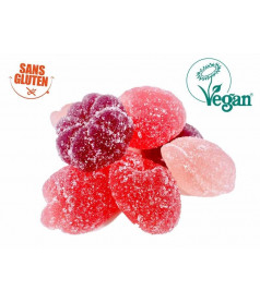 Forest Fruit Gelatin Free Jelly Candy 3 kg