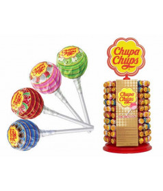 Chupa Chups x 200 pcs on Display