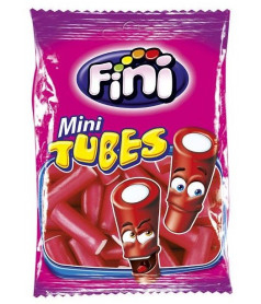 Fini Bag Mini Tube Strawberry 100 gr x 12