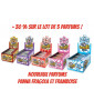 Lot 5 parfums Tornado x 150 pcs