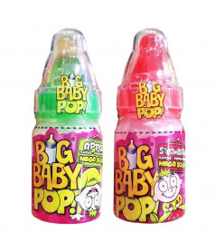Big Baby Pop Mega Sour x12 pcs