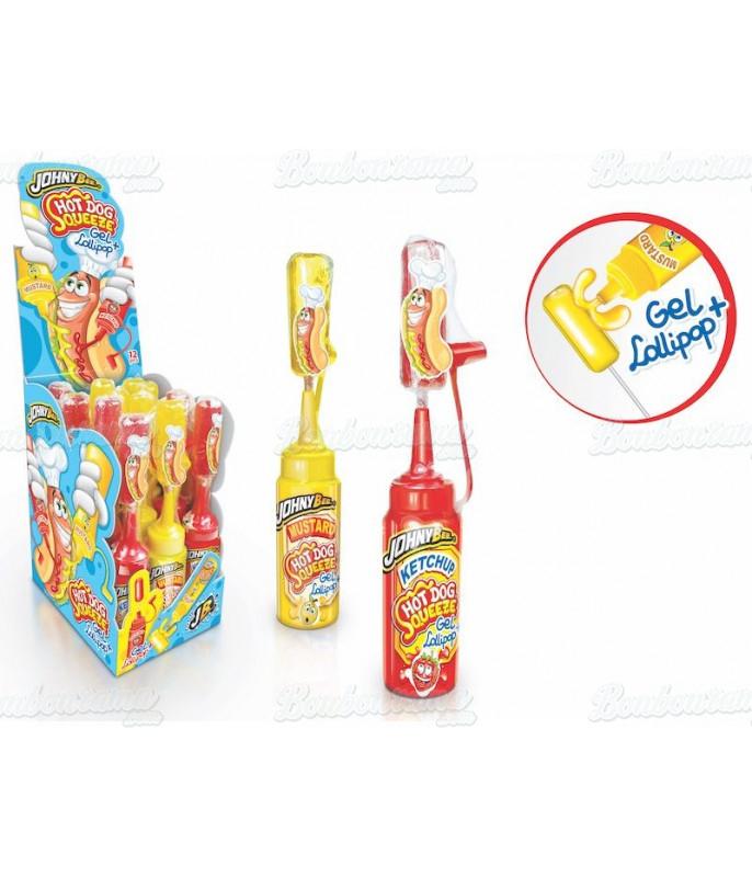 Hot Dog Squeeze Gel x 12 pcs