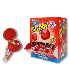 Cherry Lollipop + Gum Fini x 100 pcs