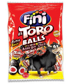 Sachet Fini Toro Balls Gum 80g x 12 pièces