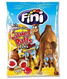 Fini Bag Camel Balls Gum 80 gr x 12