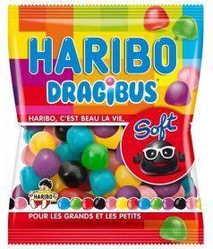 Sachet Haribo 120 gr Dragibus Soft x 30
