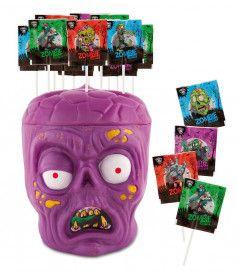 Zombie Pop Sucette x 175 pcs