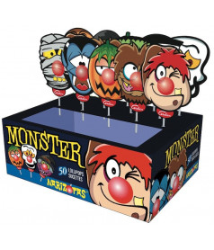 Sucette Monster Narizotas x 50 pcs