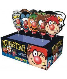 Sucette Monster Narizotas x 50 pcs