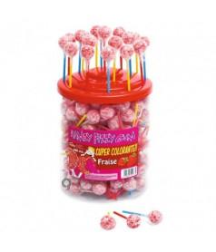 Ramzy Fizzy Strawberry x 200 pcs JAR