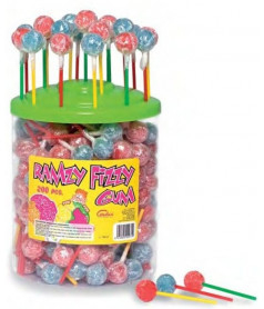 Ramzy Fizzy Cherry & Cola 200 pcs JAR