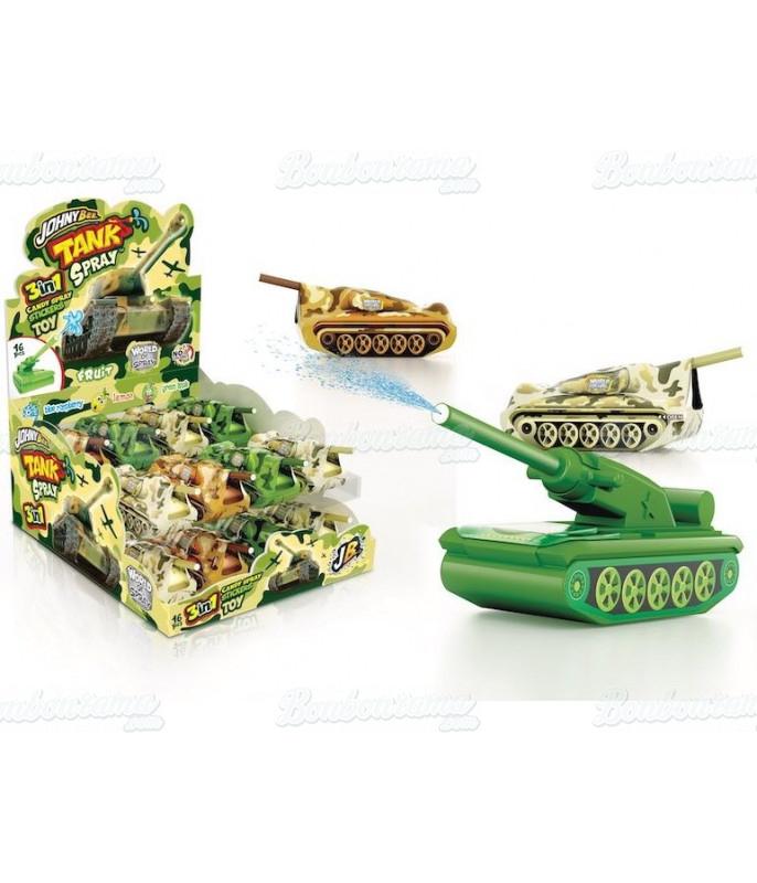 Tank Spray & Sticker x 16 pcs