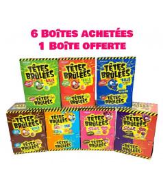 Pack Tête Brûlée 6 cases + 1 Free