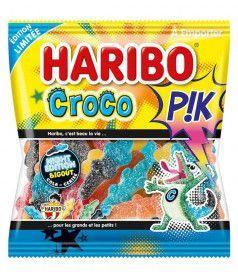 Sachet Haribo 120 gr Croco Pik x 30
