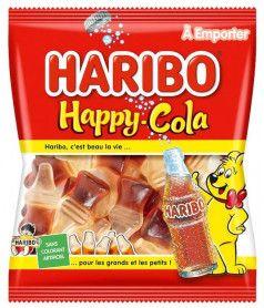 Sachet Haribo 120 gr Happy Cola x 30