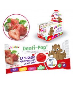 Lollipop Denti-Pop Strawberry x 40 pcs