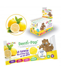 Lollipop Denti-Pop Lemon x 40 pcs