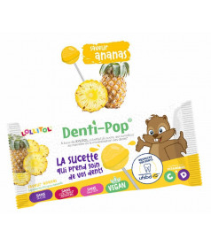 Lollipop Denti-Pop Pineapple x 40 pcs