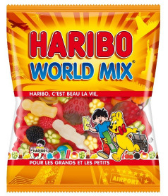 Haribo Bag World Mix 120 gr x 30