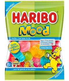 Haribo Bag Jelly Candy Mood 100 gr x 30