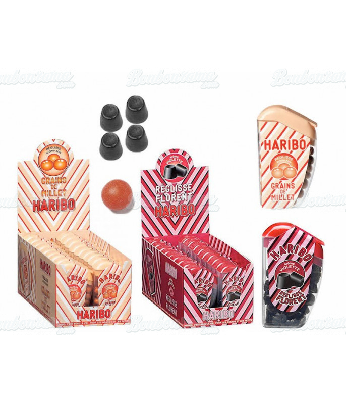 Licorice Florent Haribo 18 gr x 18 pcs