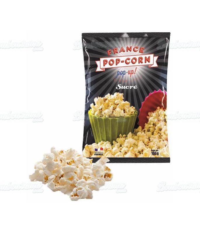 Pop Corn Sucré Sachet 100 gr x 24 pcs