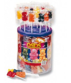 Bear Lollipop x 125 pcs