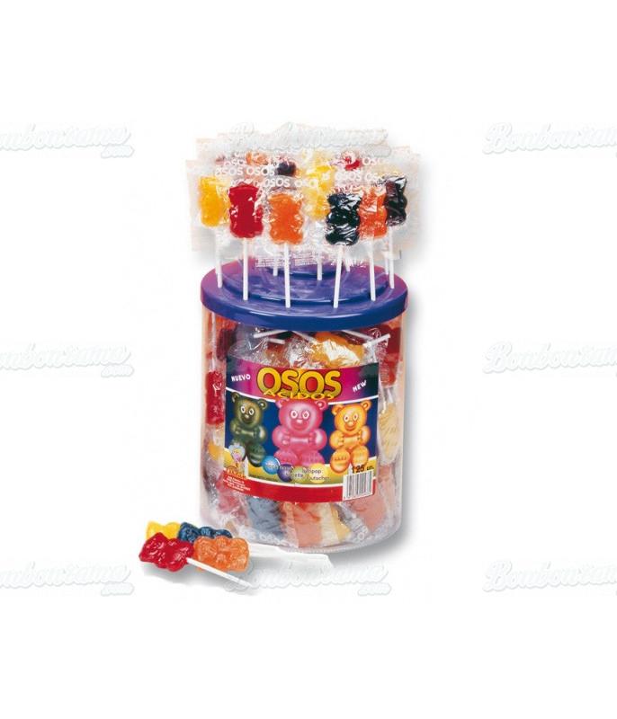 Bear Lollipop x 125 pcs