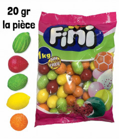 Giant Bubble Gum Fruit 1kg
