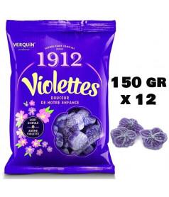 Violettes Verquin 150 gr x 12 pcs