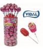 Lollipop XL Strawberry Zoom x 50 pcs