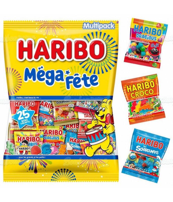 Mega Fête Mix Haribo 1 kg