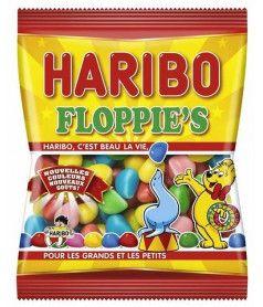 Sachet Haribo 120 gr Floppie's x 30