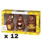 Easter Figurines Chocolate x 12