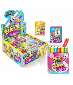 Stick Color Bubble Gum x 18