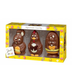 Easter Figurines Chocolate 165 gr