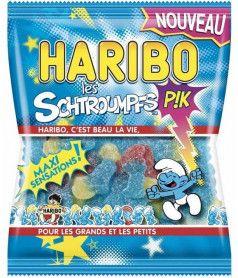 Haribo Bag 120 gr Sour Smurfs x 30