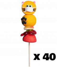 Marshmallow Lollipop Cat Nurse x 40