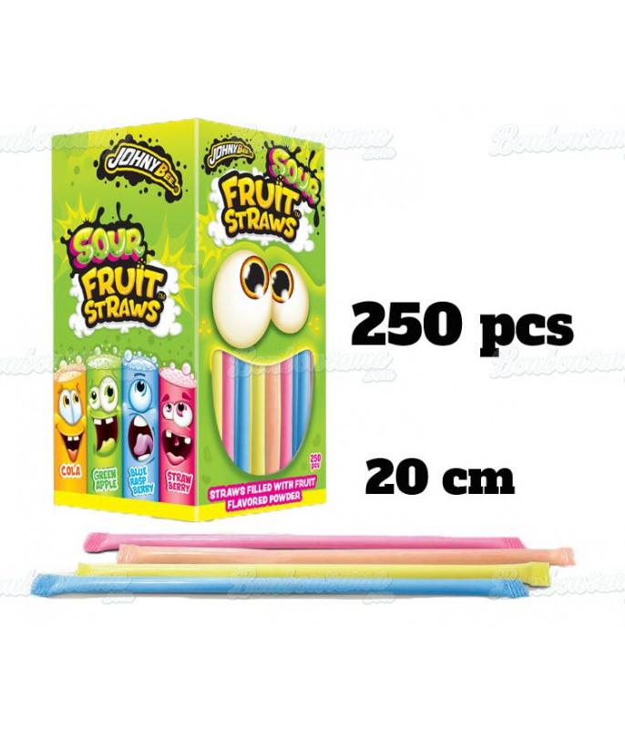 Mini Paille Fruit x 250 pcs