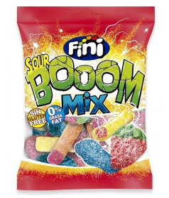 Fini Bag Sour Boom Mix 100 gr x 12 pcs