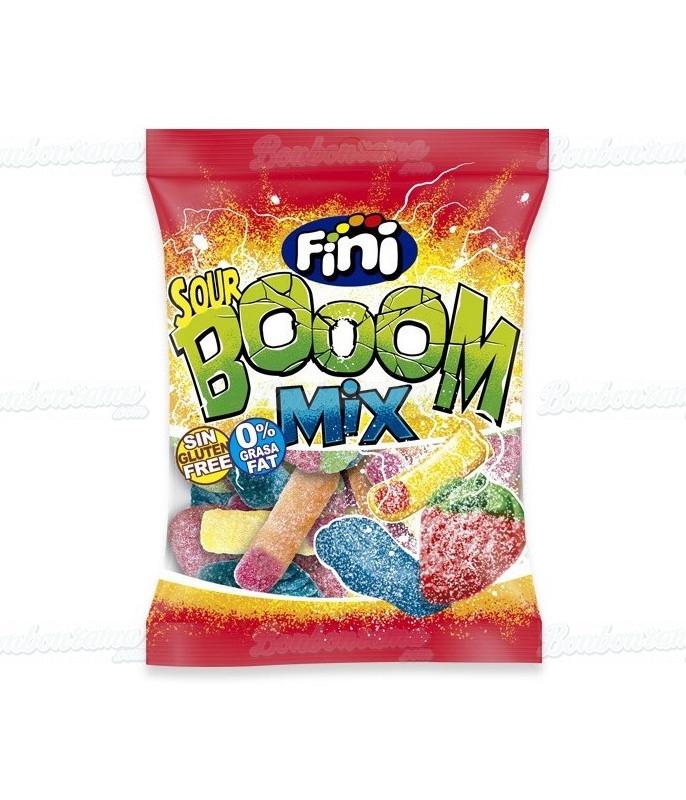 Fini Bag Sour Boom Mix 100 gr x 12 pcs
