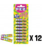 PEZ Blister 8 pack Sour Mix x 12